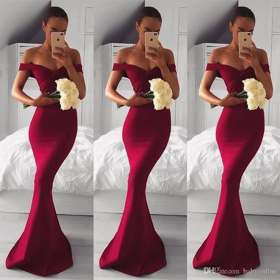 Image result for burgundy wedding reception Prom dresses