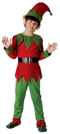Ni o ni a ayudante de santa duende navidad fancy dress - Disfraces de duendes de navidad ...