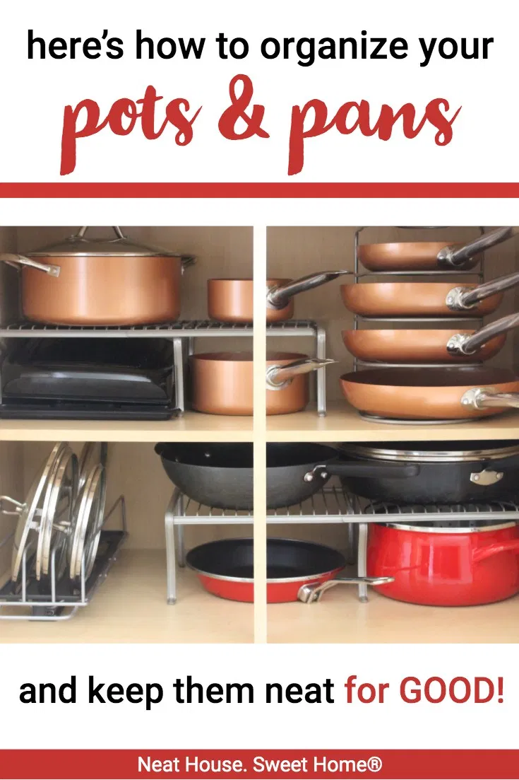How to Keep Pots and Pans Organized
