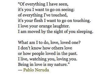Poems Of Pablo Neruda - Poemas en inglés