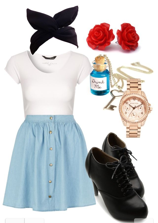 Oh my gosh. An Alice outfit! Love love love! | outfit | Pinterest | Alice Disneybound and ...
