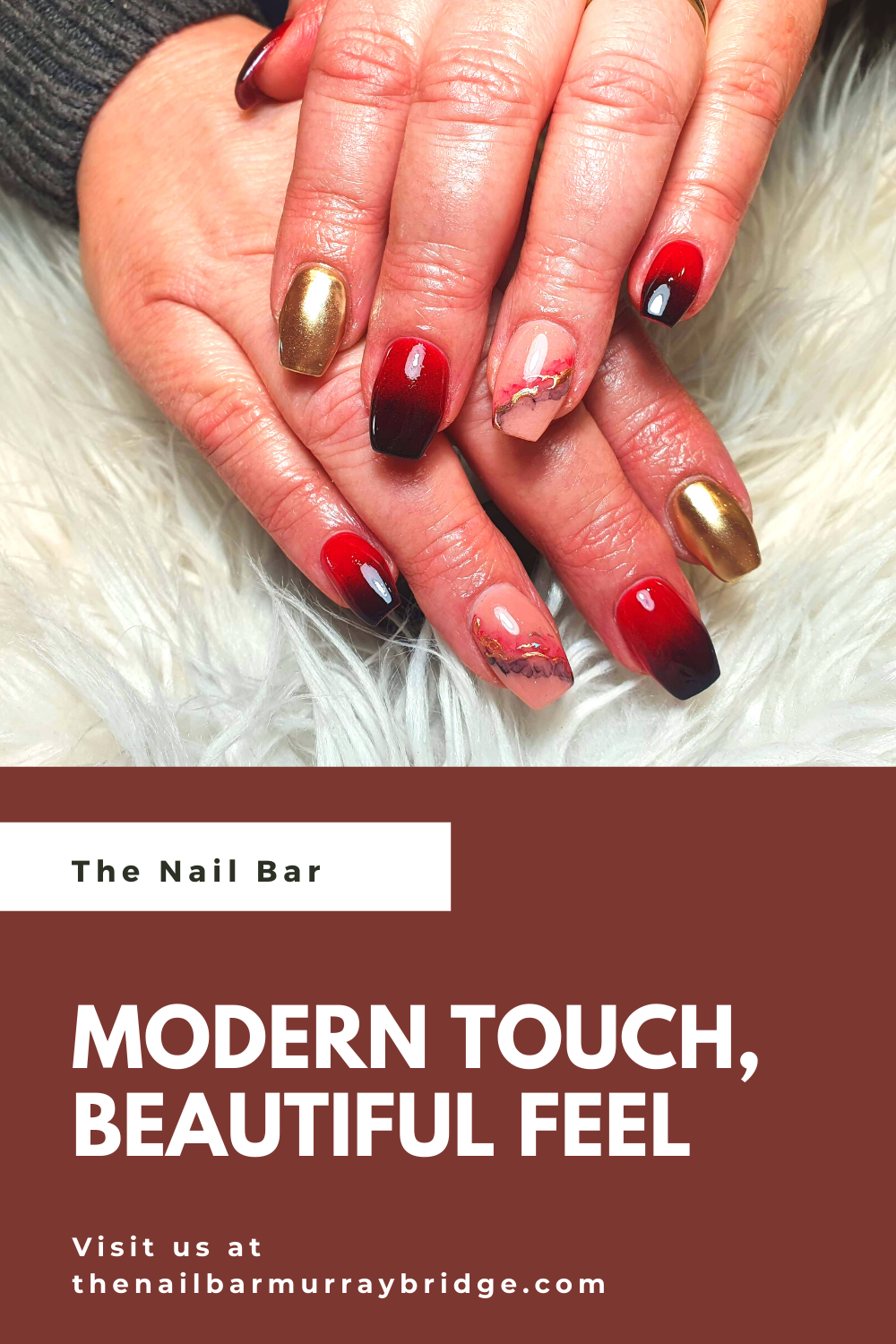 To know more about our services and prices visit us at our website or call us at 08 8532 6880 : : #nailart #thenailbarmb #nails #gelnails #acrylicnail #glitternails #murraybridge