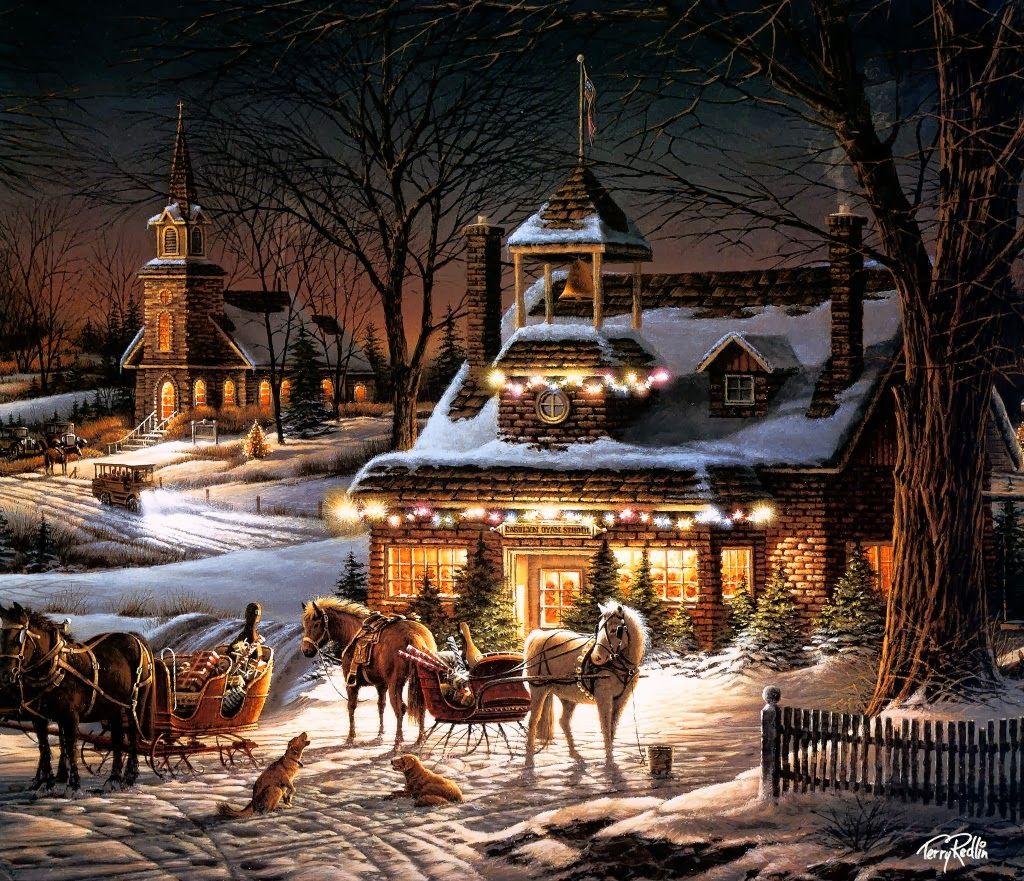 праздник рождество в моей деревне картинки словами какими сутрами