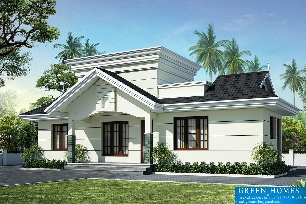 Nano Home Plan Elevation Square Feet Kerala House Elevations Design Architecture Plans Floor Sahad And