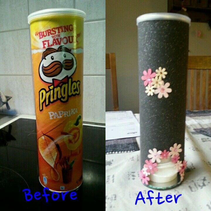 Pringles Purkin Kierrätys