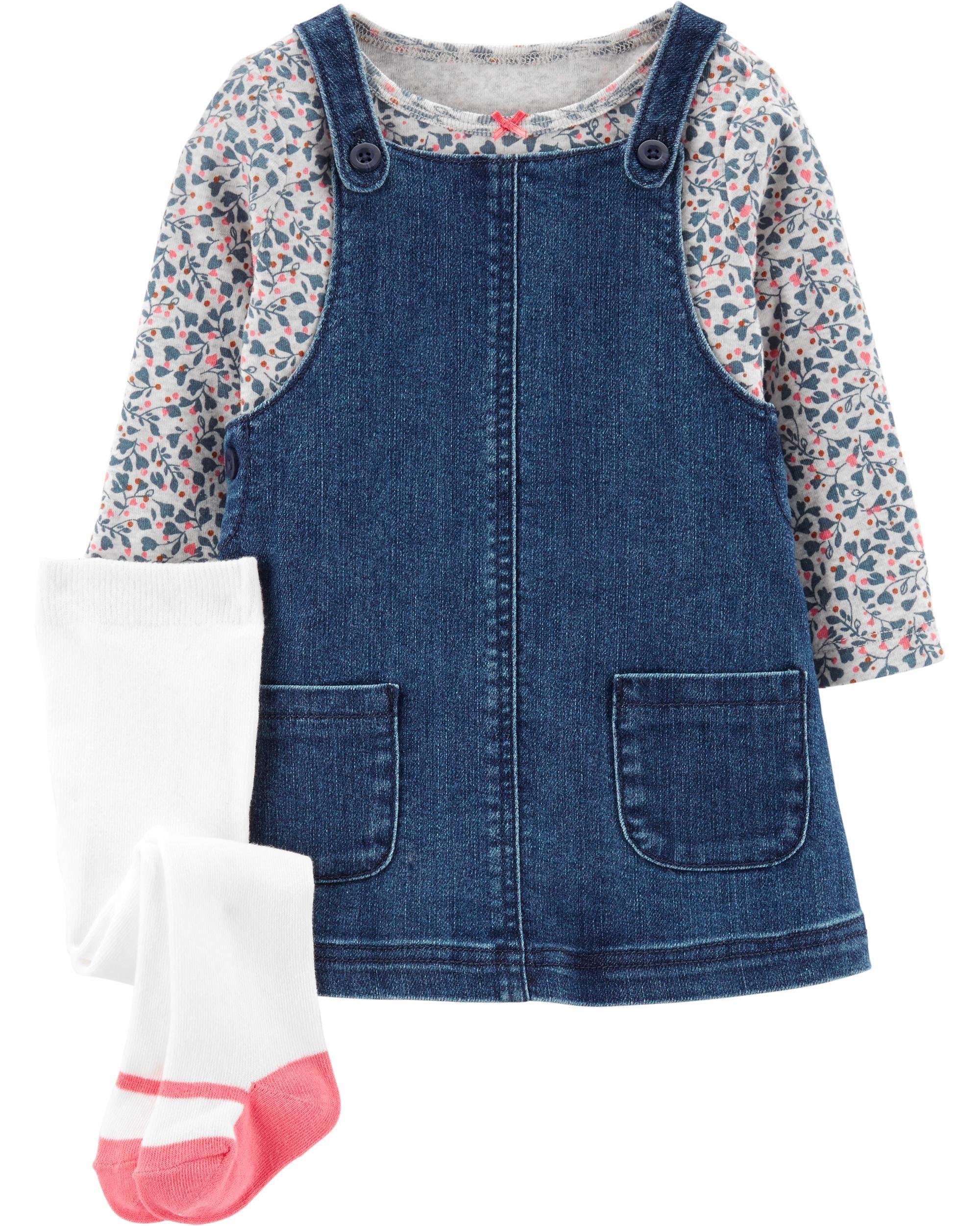 17++ Baby denim jumper dress ideas