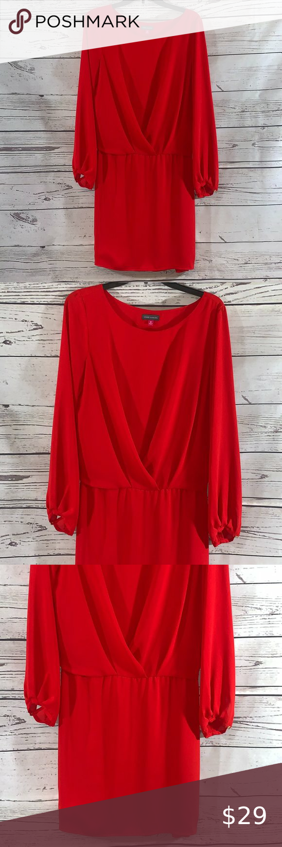 Nwot Vince Camuto Christmas Red Dress In 2020 Clothes Design Red Christmas Dress Red Dress [ 1740 x 580 Pixel ]