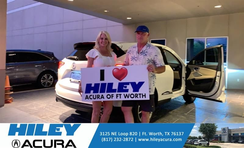 #HappyAnniversary to George and your 2019 #Acura #RDX from Everyone at Hiley Acura!
