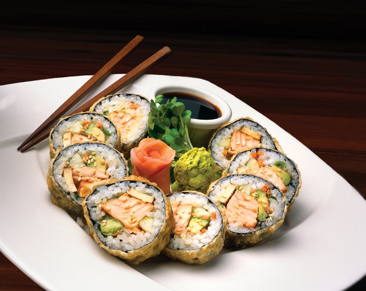Elephant Bar S Salmon Tempura Rolls These Disear Very Quickly You May Wanna Order 2 Rounds