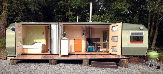 George Clarke\'s caravan from Amazing Spaces | Architecture ...