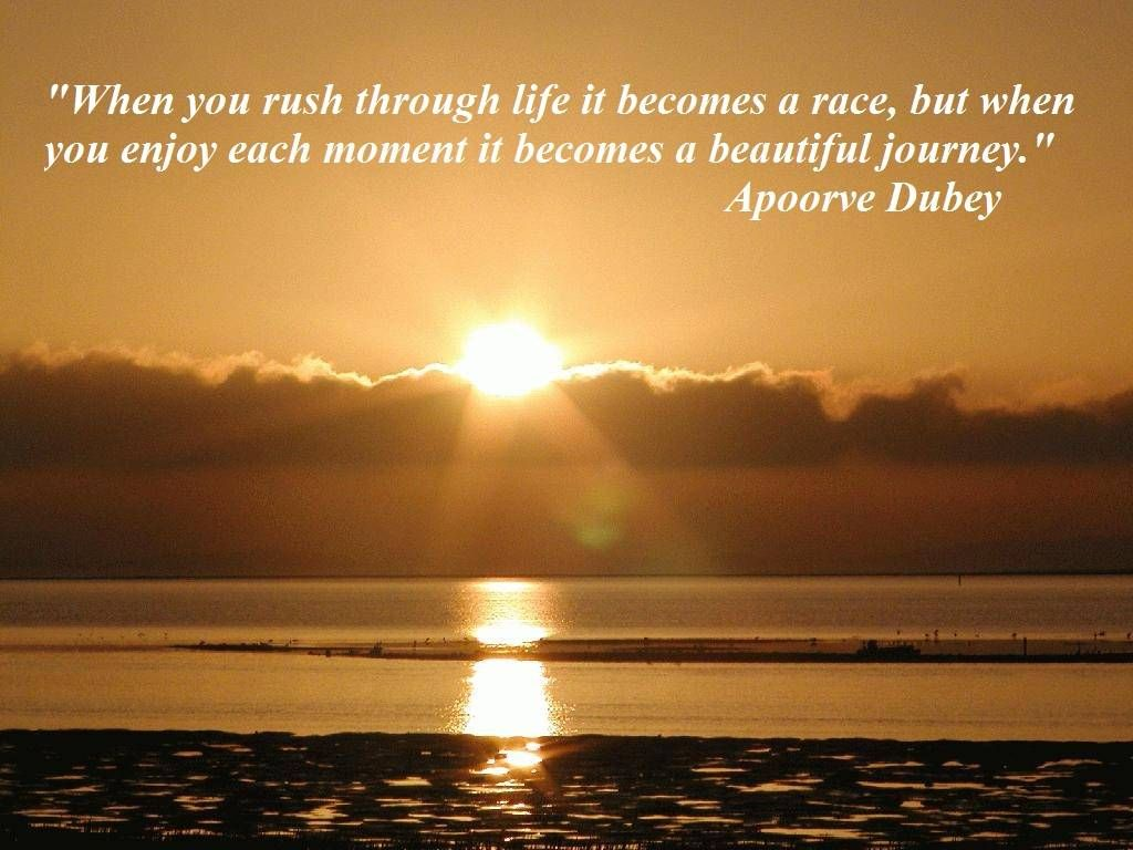 Quotes About Rushing Life: Life Is A Journey Quotes - Google Search