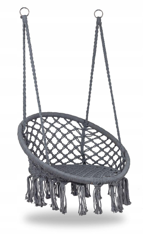 Fotel Wiszacy Hustawka Ogrodowa Bocianie Gniazdo 8025430413 Oficjalne Archiwum Allegro Hanging Chair Decor Ceiling Lights