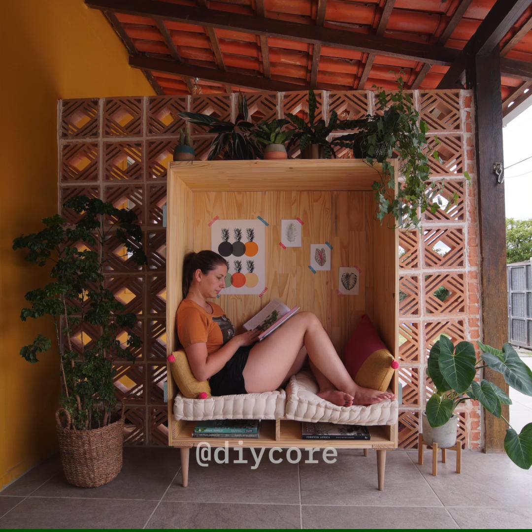 Photo of DIY – Casulo de Descanso und Leitura