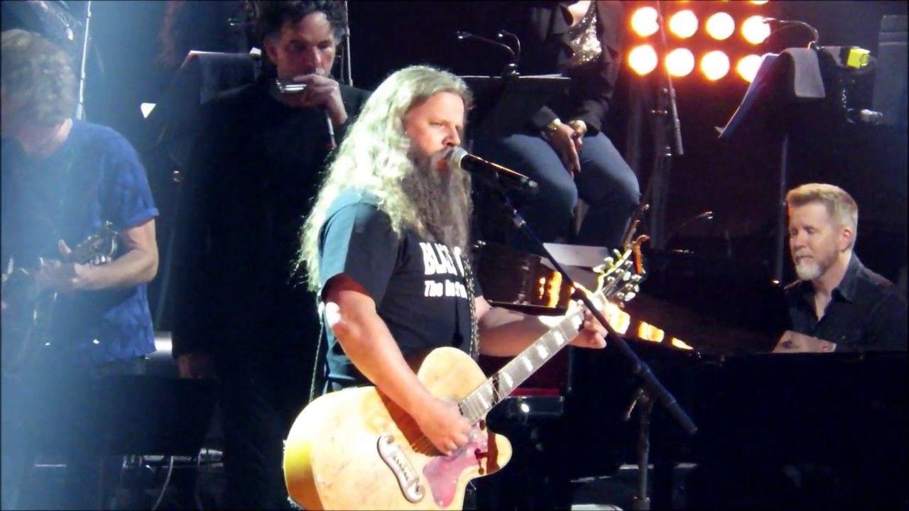 Jamey Johnson - Kern River @ Merle Haggard's Tribute Concert  Sing Me Ba...