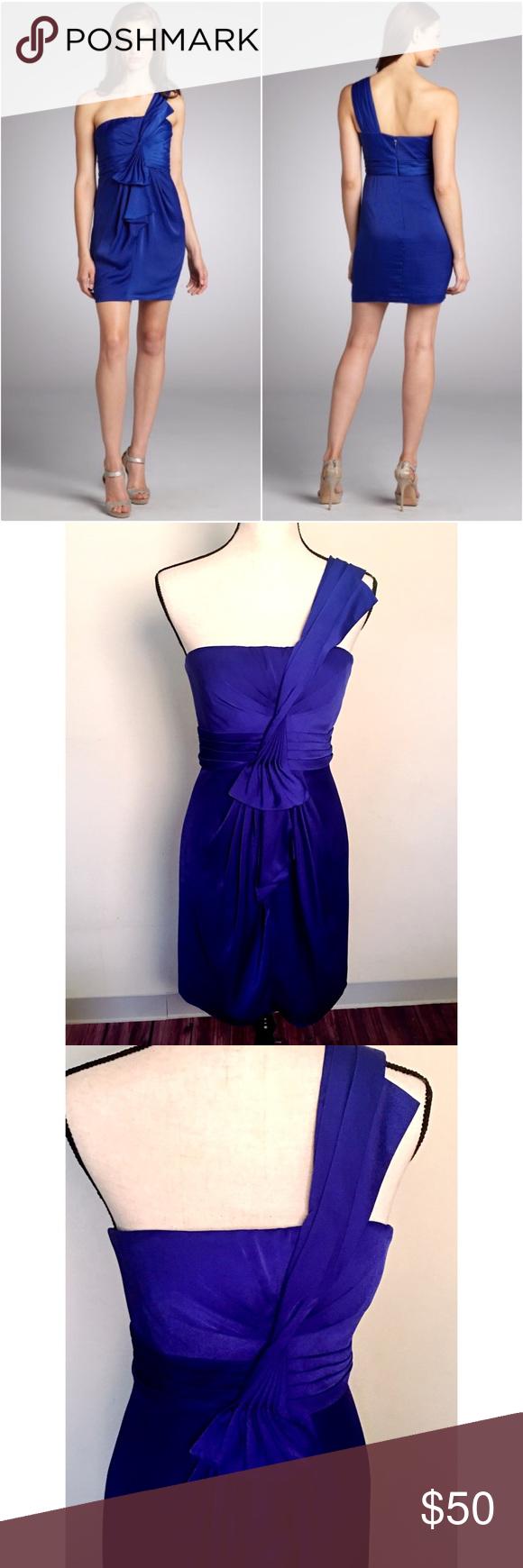 Famoso Vestido De Cóctel Azul Bcbg Imágenes - Colección del Vestido ...