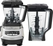 Ninja - Kitchen System 1200 3-Speed Blender - Black/Chrome (622356530842) Create delicious smoothies and more with this Ninja Kitchen System 1200 BL700 blender that features an electronic control panel with 3 blend speeds and a pulse option for simple use. The 6 stacked Precision Ninja blades offer efficient operation.