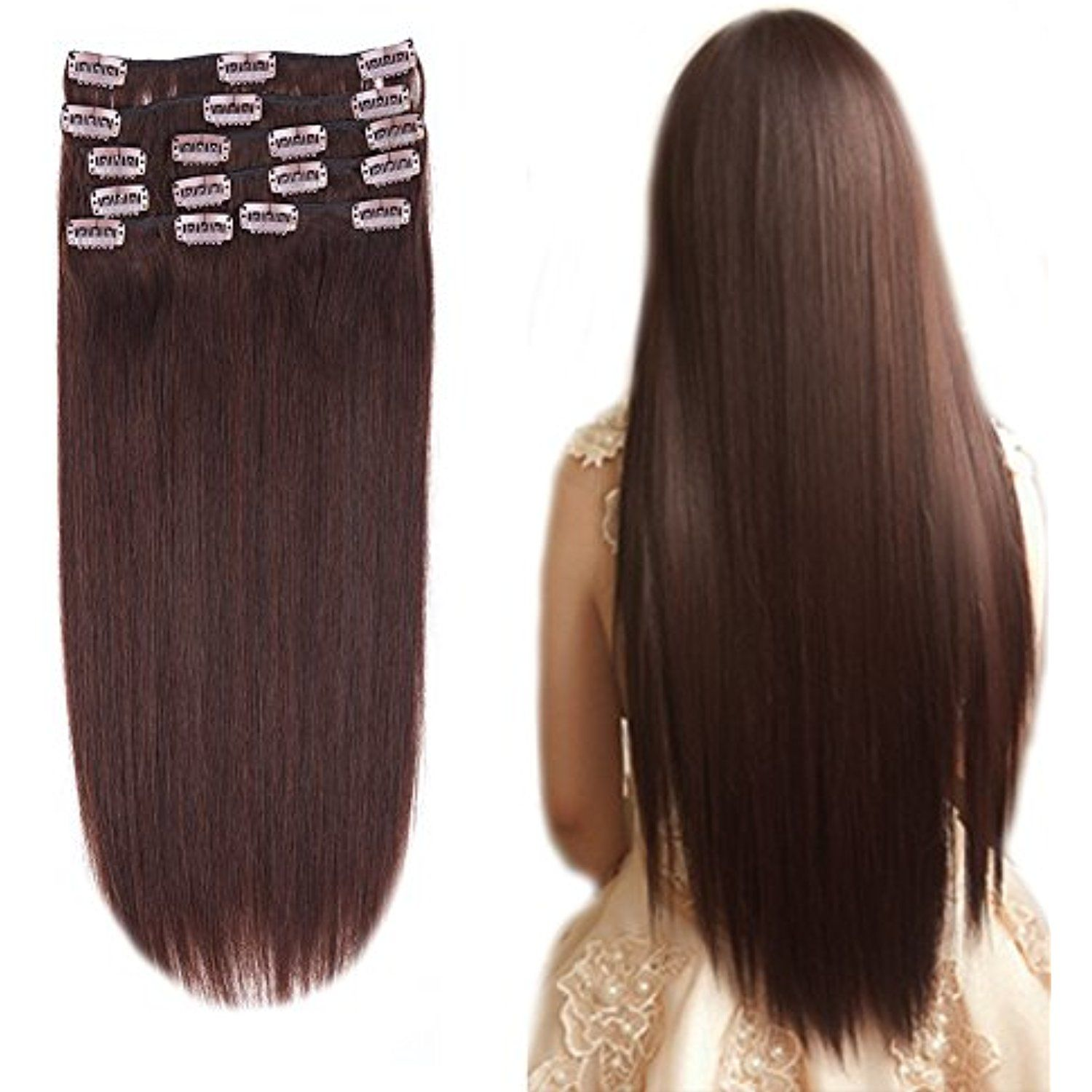 1222inch Clip in Remy Human Hair Extensions PersonalCare