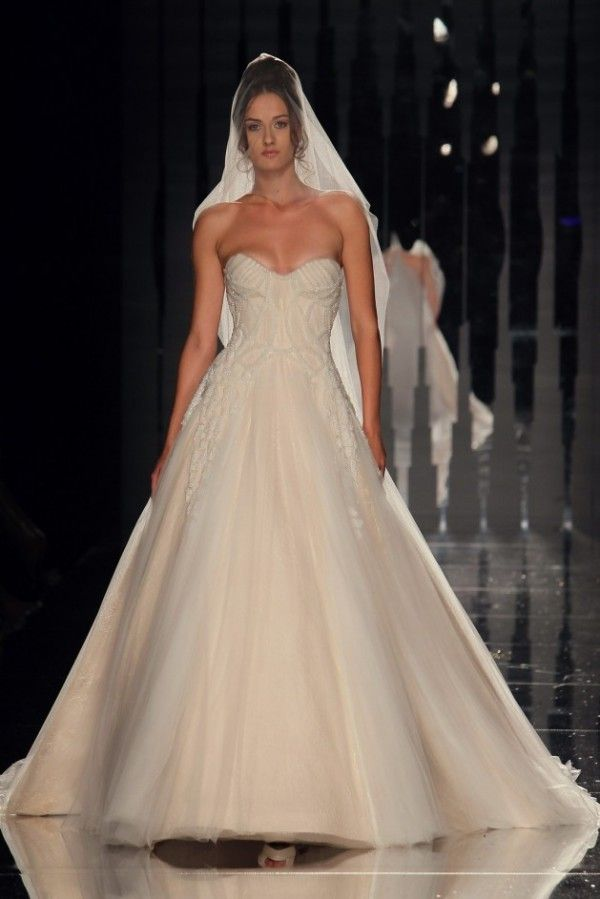 Beautiful But If You Lift Your Arm Nip Slip Abed Mahfouz Bridal Gown