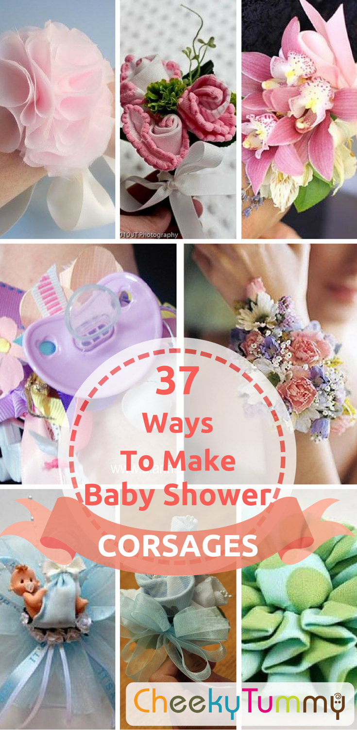 37 Inspiring Baby Shower Corsages Baby Shower Corsage Baby