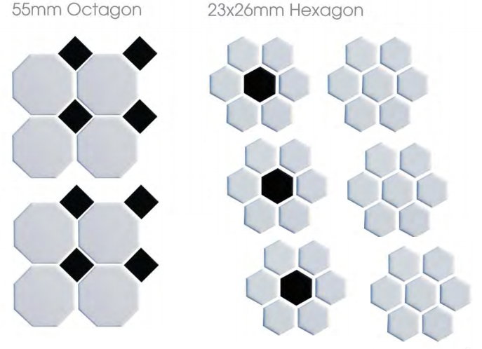 10 Best images about Hexagon tiles and mosaics on Pinterest ...