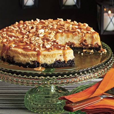 Snickers Cheesecake for Father's Day Dessert!