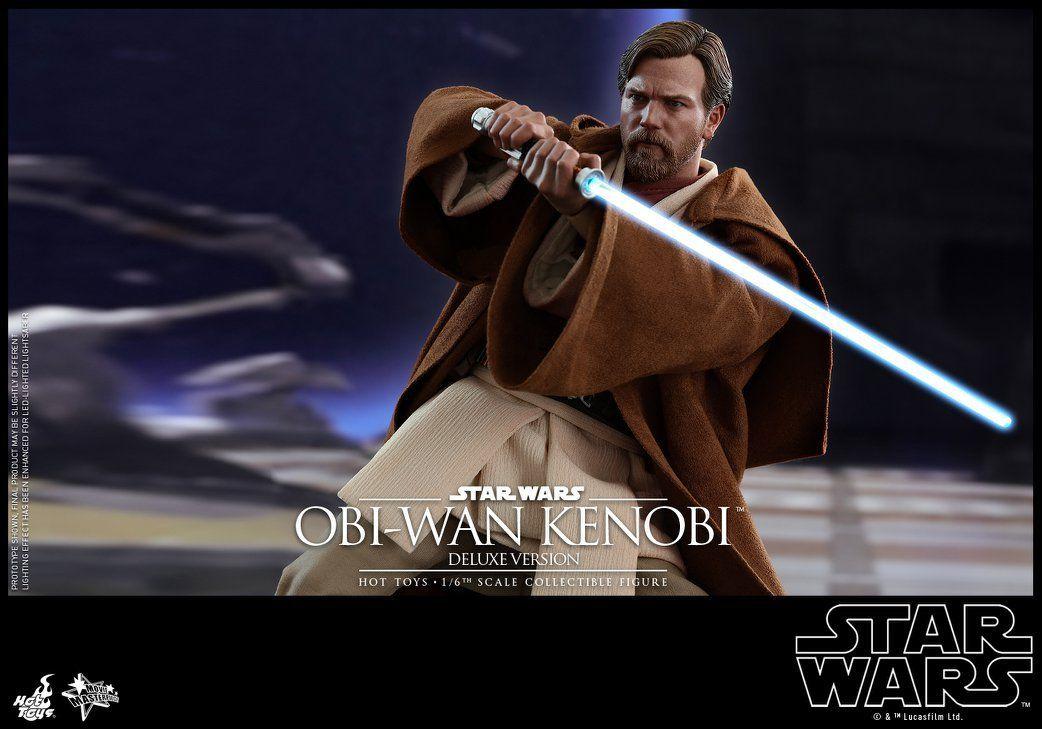 Hot Toys Star Wars Revenge Of The Sith Obi Wan Kenobi 1 6 Scale Figure Star Wars Obi Wan Star Wars Collection