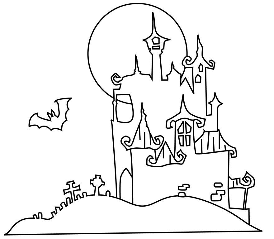Für die kleinen Kinder: 21 kostenlose Ausmalbilder für Halloween ...
