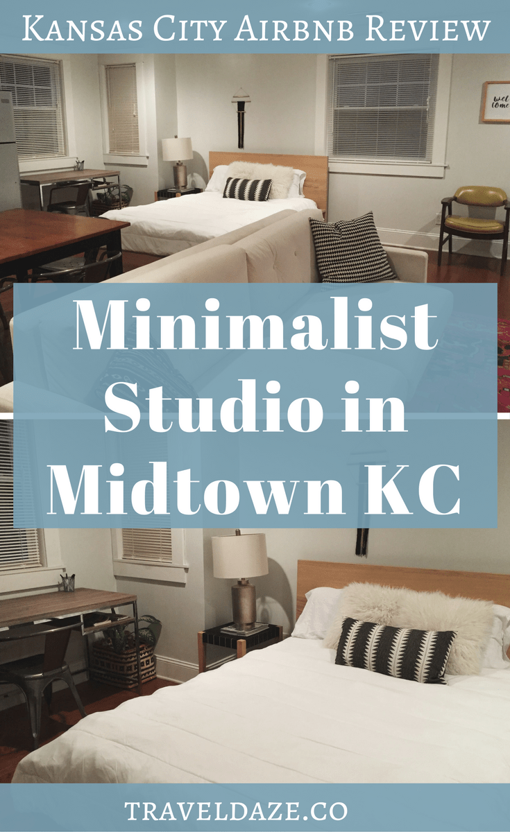 Kansas City Airbnb Review Minimalist Studio In Midtown Airbnb Reviews Kansas City Kansas