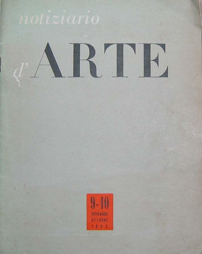 1962 Notiziario D'ARTE