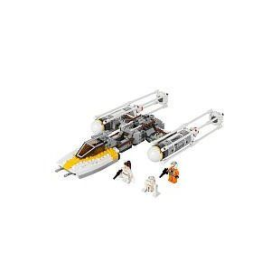 LEGO Star Wars Set #9495 Gold Leaders Y-Wing Starfighter - HAS