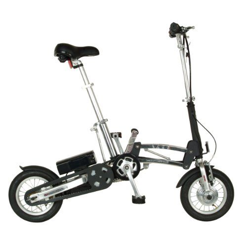 E Mazing Innovations B Ob Electric Folding Bicycle 12 Inch Wheels