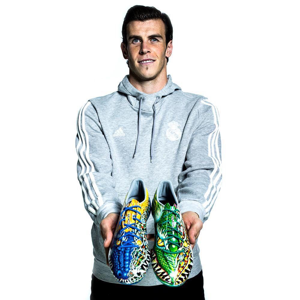 Gareth Bale Adidas Animation Predator Cleats Gareth Bale James Rodriguez Football Shoes