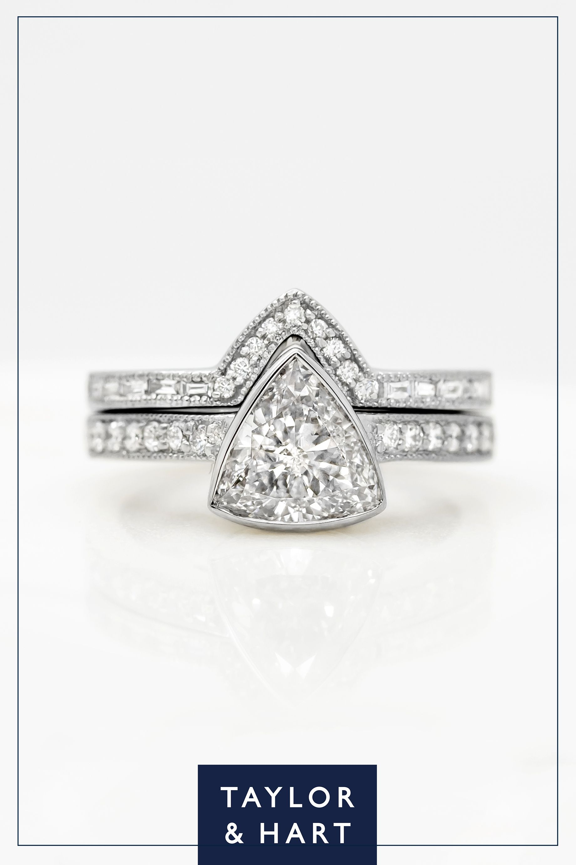 engagement accessory triangular diamond pinterest pin eb ring rings