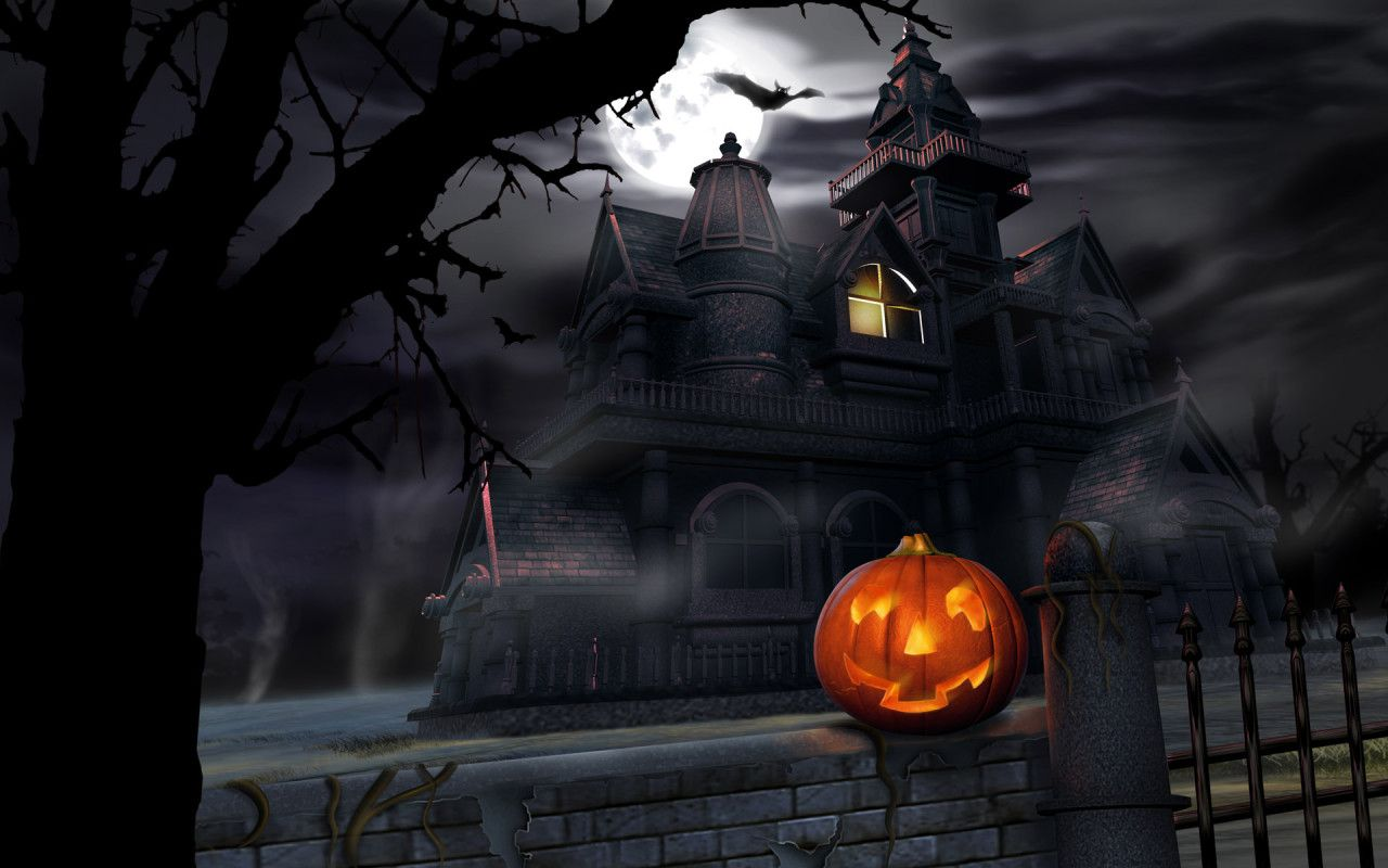 Free Halloween Wallpaper 5202 1280x800 Px Hdwallsource Com Halloween Pictures Halloween Images Halloween Desktop Wallpaper