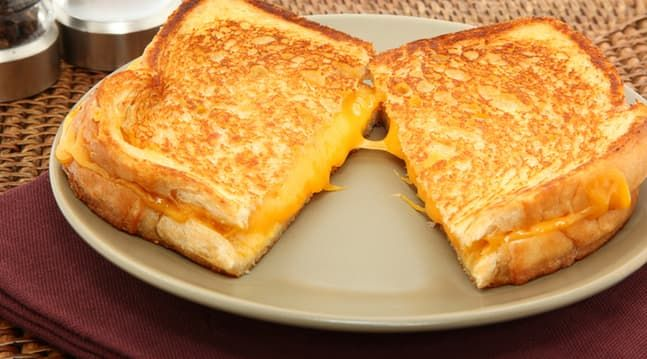 Skip the Butter and Use This on Your Grilled Cheese Instead - for the crispiest crust ever