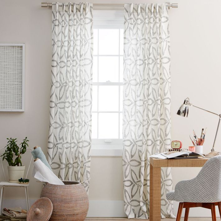 West Elm Windmill Curtains--on Sale For 50 Dollars Each
