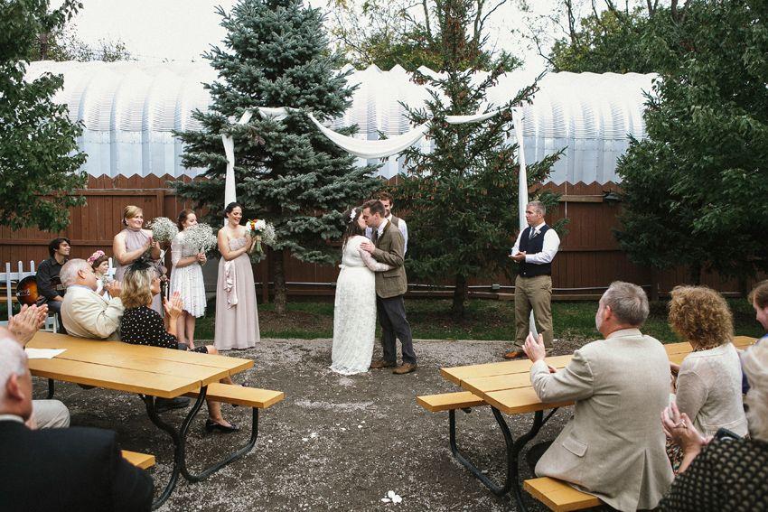 Chelsea+Travis // ABC Brewery Wedding Ypsilanti, Mi (With