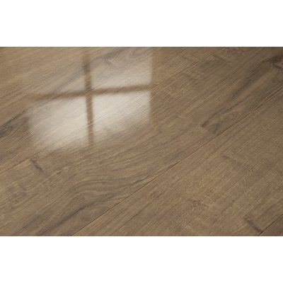 Elesgo Floor Usa 7 X 51 X 9mm Oak Laminate Flooring In Tan Products