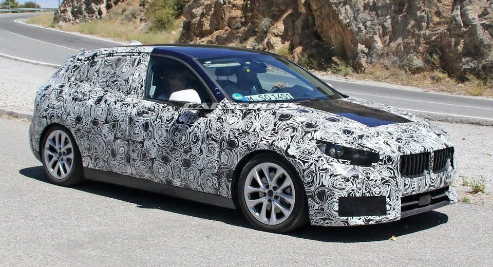 2019 Bmw 1 Series Drops Some Of Its Front Fascia Camouflage Bmw