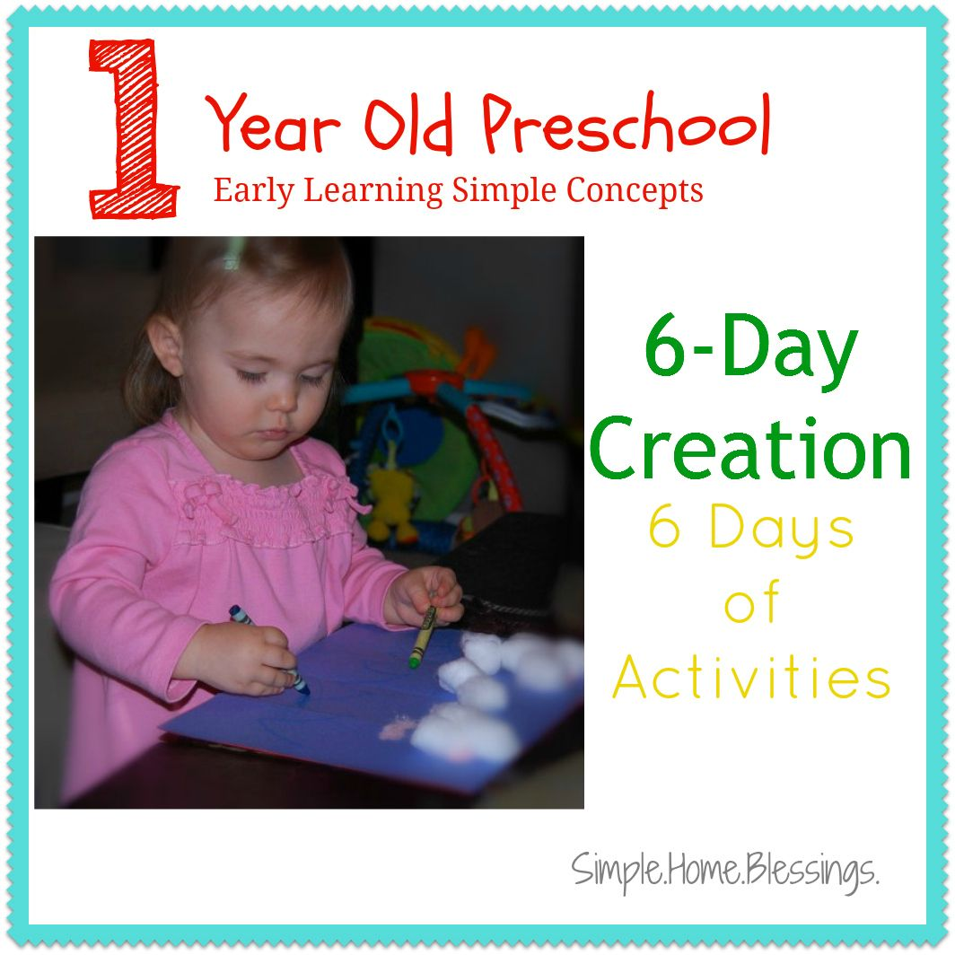 6 Days Of Activities To Teach The Biblical 6 Day Creation Account Very Basic Ideas To Make The