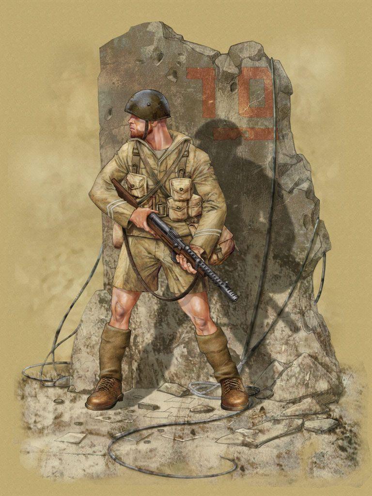 Preferenza Regio Esercito - Soldato di Fanteria   WWII Uniformi - ITALIA  HT08