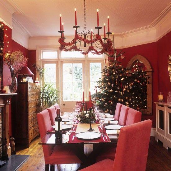Dining Room Elegant Concept Dining Room Christmas Decorating Amusing Christmas Decorations For Dining Room Design Decoration