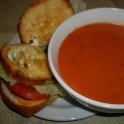 Old fashioned cream of tomato soup 67