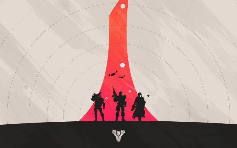 Destiny Hunter Warlock Titan Video Game Minimal Wallpaper Backgrounds Destiny Tower Destiny Game