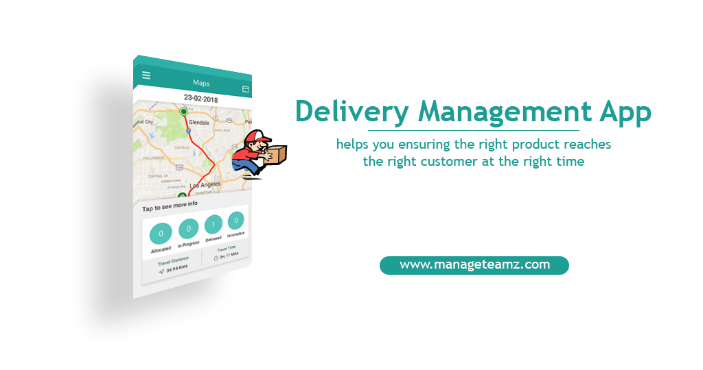 ManageTeamz helps you ensuring the right product reaches