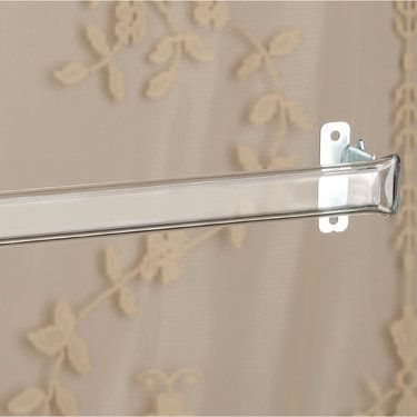 Clear Curtain Rod For Laces And Sheers 28 To 120 Curtain