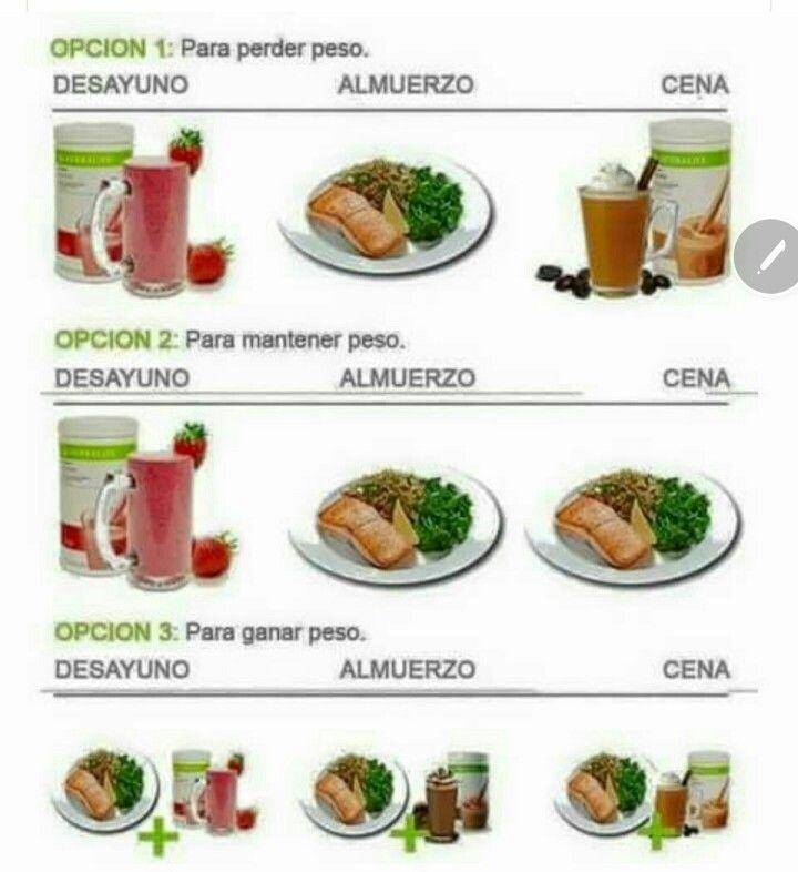 Productos para bajar de peso herbalife diet