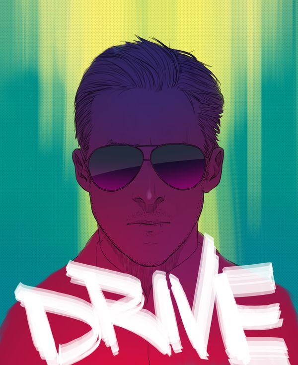 DRIVE - Little White Lies by Minh Nguyen, via Behance