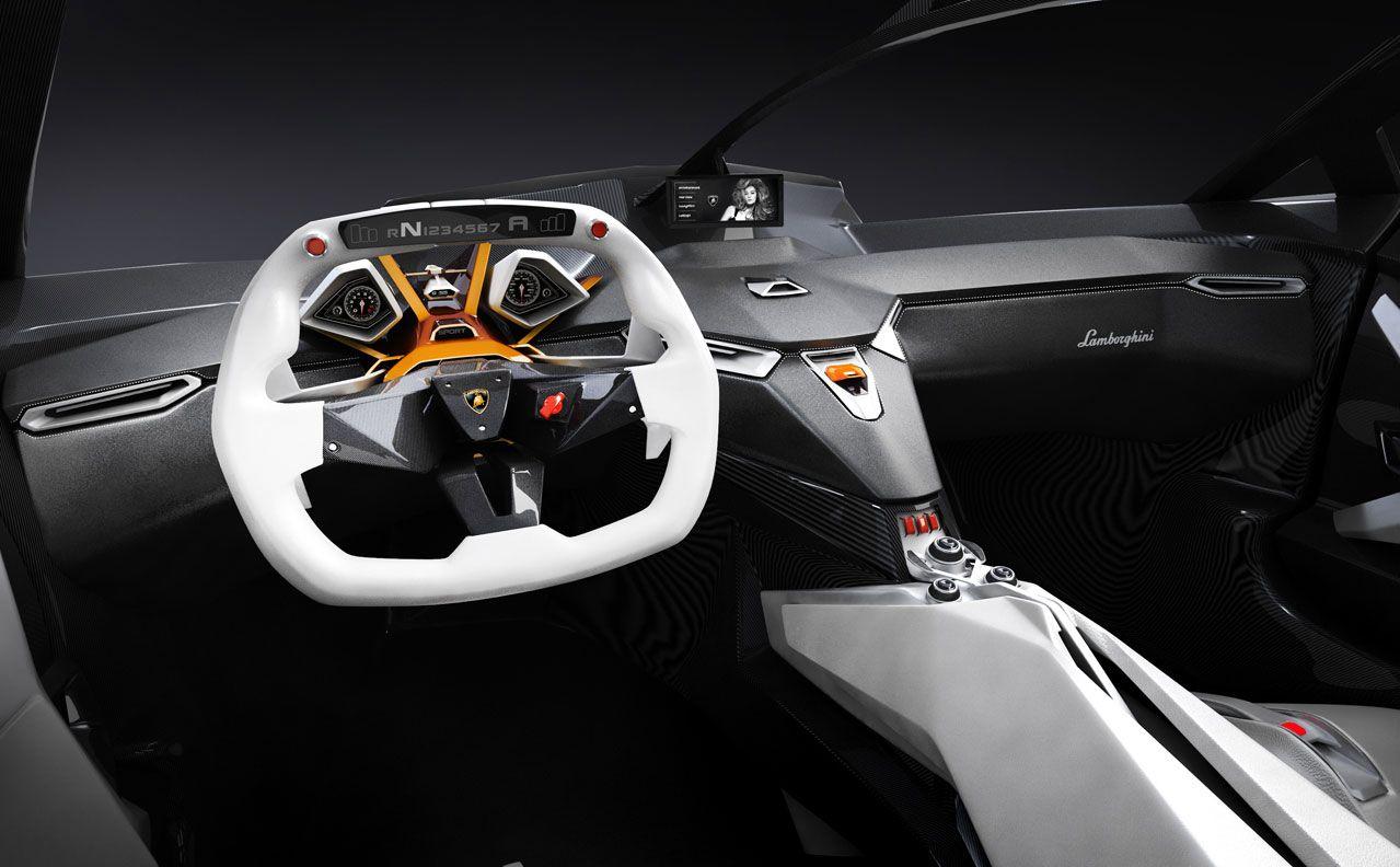 Lamborghini ankonian concept interior lamborghini - Lamborghini Perdigon Concept Interior