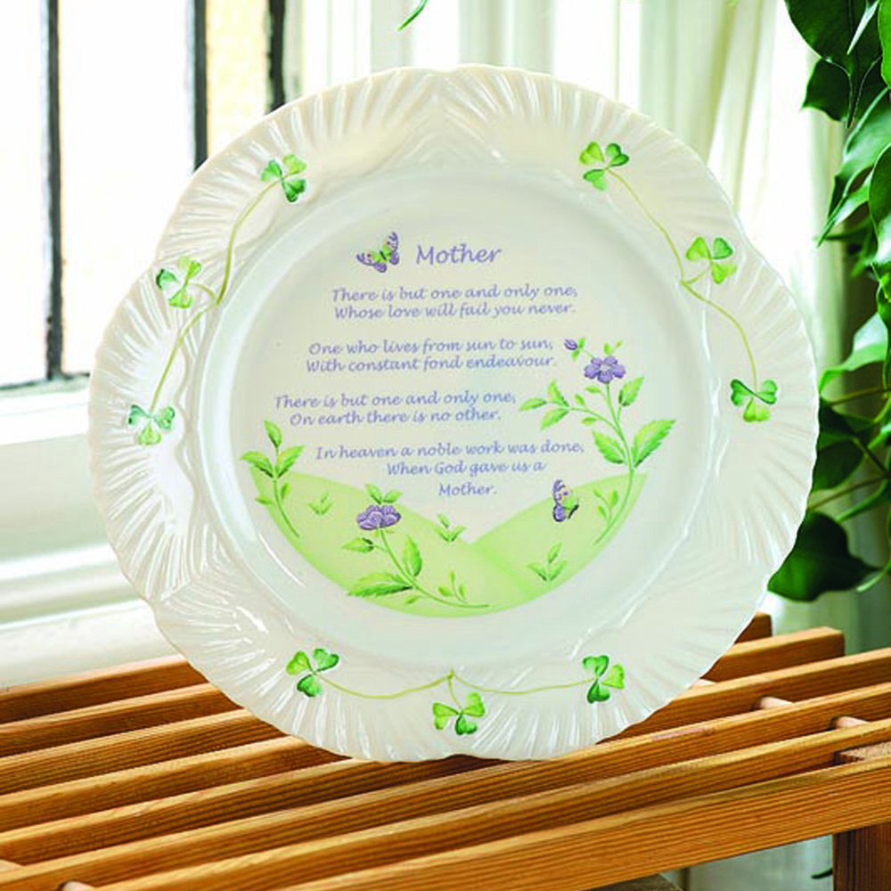 Harp mothers blessing plate in 2020 special gifts